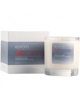 eufora wellness BELIEVE essential oil candle